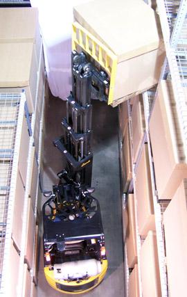 ширина межстеллажного коридора 2.0 метра